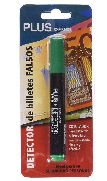 bolígrafos detectores de billetes falsos