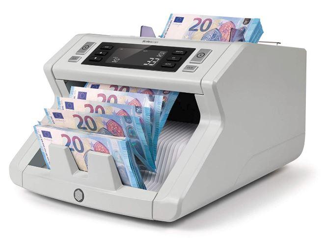contador de billetes y detector de billetes falsos