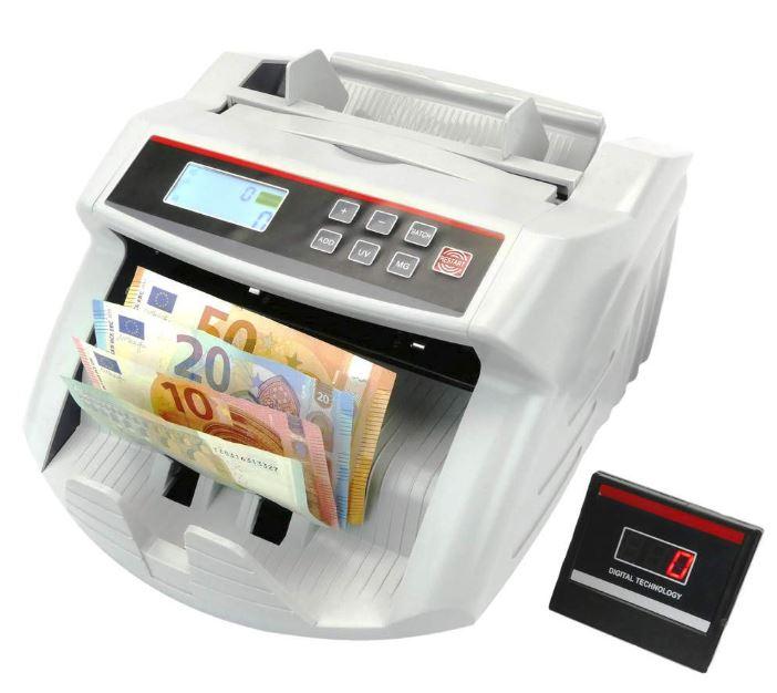 detector y contador de billetes falsos