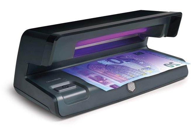 lampara detectora de billetes falsos