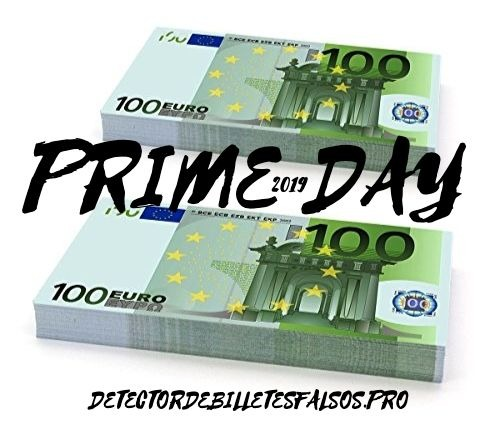 Prime Day detector de billetes falsos