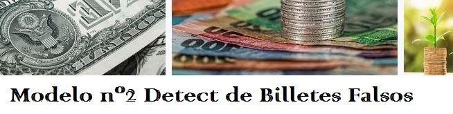 Modelo D150 detector de billetes falsos